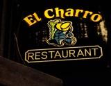 El Charro sign