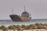Båtvrak vid RödahavskustenShip wrecks in the Red Sea Coast