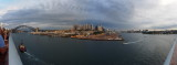 Heading towards The Sydney Harbour Bridge