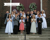 Ss. Francis and John First Communion