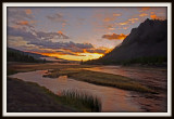 Yellowstone Sunrise Painted