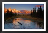 Tetons From a Quiet Stream