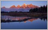 The Peaks of the Teton Range