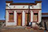 Cracked Old Building  - Jerome, Arizona