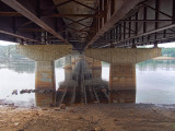 Bridge over the Wisconsin River - Sauk City, Wisconsin