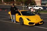 Me and the yellow Lambo.