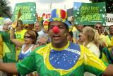 MANIFESTACAO AVENIDA ATLANTICA / COPACABANA / RIO DE JANEIRO / BRASIL; 13.03.2016
