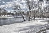 Cedar River in Waverly, IA