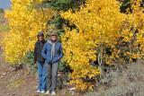 Martha and Ann enjoy fall colors!