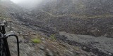 Dans la White Pass, le sentier des chercheurs d'or/ On the White Pass, the trail