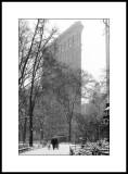 Hommage à Steiglitz et Steichen / Tribute to Steiglitz and Steichen -- Flat Iron Building, New York