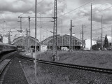 Arrivée à la gare de Berlin / Arrival at the railway station in Berlin