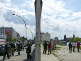 À gauche, Berlin est / On the left, East Berlin