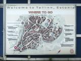 Carte de Tallinn / Tallinn Map