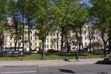 En autocar vers l'Ermitage / Bus ride to the Hermitage