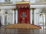 Salle Saint-Georges, trône des tsars / St. George Hall, tsar's throne