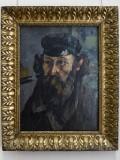 Cézanne, Autoportrait à la casquette, c. 1873