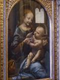 Da Vinci, Madonne avec une fleur ou Madonna Benois, 1478
