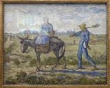 Van Gogh, Le matin le départ au travail, 1890