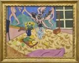 Matisse, Fruits, fleurs, panneau « La Danse » 1909