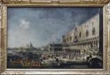 Canaletto, Réception de l'ambassadeur de France à Venise, 1727