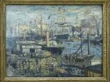 Monet, Grand Quai au Havre, 1874