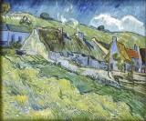 Van Gogh, Les chaumières, 1890