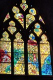 Marc Chagall's Stained Glass Window in Yellow