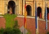 Sunning at the Maximilianeum