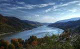 The Rhine River by Bacharach