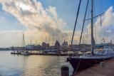 The Harbor of Stralsund