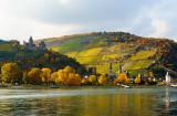 Bacharach with Castle Stahleck