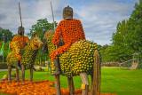 Jousting Pumpkin Men