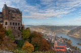 Castle Schoenburg and Oberwesel