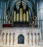 Lincoln Cathedral Choir Screen and Organ