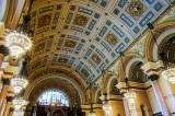 St George's Hall ceiling