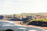 Whitby from Lythe Bank Sandsend