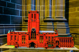 Liverpool Cathedral built in Lego.