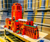 Liverpool Cathedral built in Lego