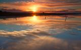 Meningie Salt Pan Sunrise