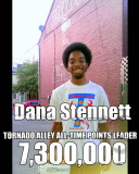 Dana Stennett Tornado Alley All Time Points leader