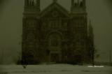 Saint-Louis de Courville Québec  built  1912 -1917 Ce matin dans la tempête / This Morning in the Storm