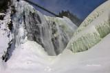 Parc de la Chute-Montmorency (hauteur 84 mètres) Montmorency Falls ( 272 feet at -25°C