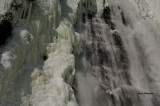 Chutes Montmorency (hauteur 83 m) 272 p ) Montmorency Falls ( 83m ( 272 feet
