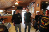 Wayne Littrell at City Seafood In Everglades City, Florida.