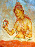 Sigeriya Cave Painting - Sri Lanka
