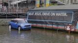 Beat Jesus. Drive on Water!!