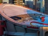 Saddledome Roof Repair