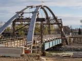 St. Patrick's Bridge under construction