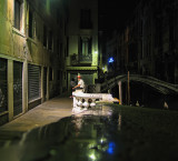 Lonely night gondolier...